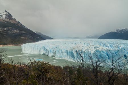 moreno: Perito Moreno glacier in National Park Los Glaciares, Argentina