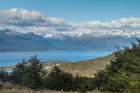 tierra del fuego: Mountains in National Park Tierra del Fuego, Argentina