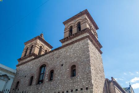 iglesia de la compania: Iglesia de la compania de Jesus in Cordoba church, Argentina Stock Photo