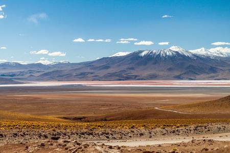 Laguna Colorada lake in Bolivia
