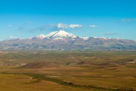 altiplano: Landscape of bolivian Altiplano Stock Photo