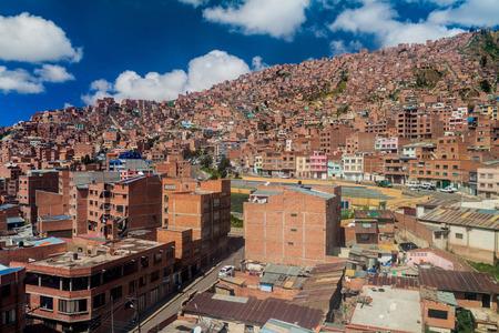 la paz: Houses of La Paz, Bolivia