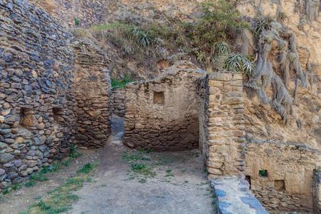 inca ruins: Inca ruins of Ollantaytambo, Sacred Valley of Incas, Peru