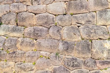 inca ruins: Detail of a wall at Inca ruins of Ollantaytambo, Sacred Valley of Incas, Peru