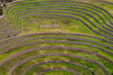 climatic: Agricultural terracing of Moray, Sacred Valley, Peru
