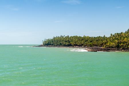 Ile Saint Joseph island in archipelago of Iles du Salut (Islands of Salvation) in French Guiana