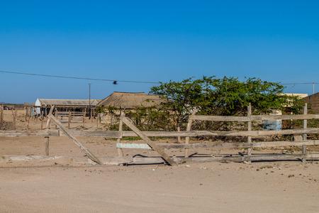 Village Cabo de la Vela located on La Guajira peninsula, Colombia