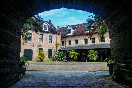Fort Zeelandia fortress in Paramaribo, capital of Suriname.