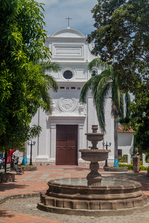 antioquia: Jesus Nazareno church in Santa Fe de Antioquia, Colombia.