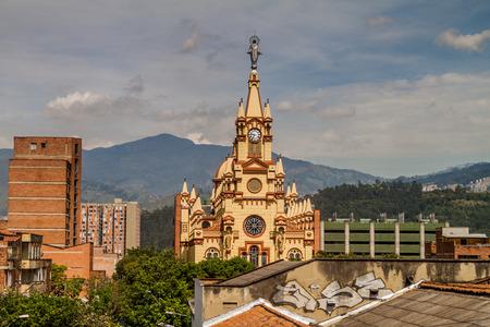 antioquia: Jesus Nazareno Church In Medellin, Colombia