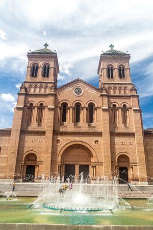 Metropolitan cathedral in Medellin, Colombia