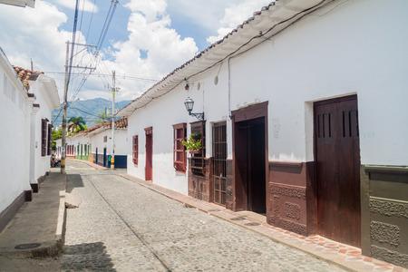 antioquia: Old colonial houses in Santa Fe de Antioquia, Colombia. Editorial