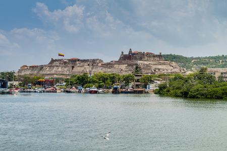 barajas: Castillo de San Felipe de Barajas castle in Cartagena de Indias, Colombia