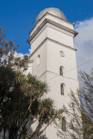Astronomical observatory in Bogota, Colombia. Built in 1803, oldest on the continent. Stock Photo