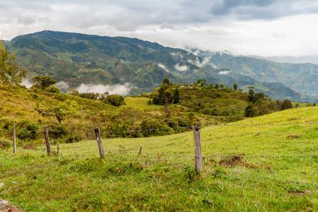cuenca: Landscape in Cuenca region of Colombia