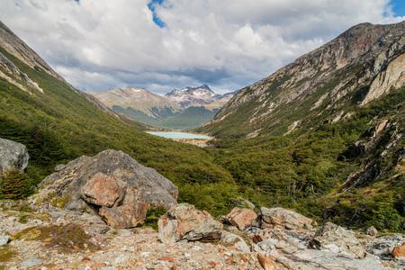 tierra del fuego: Valley in Tierra del Fuego, Argentina