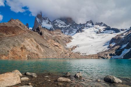 roy: Laguna de los Tres in National Park Los Glaciares, Argentina