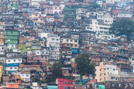 Favela Rocinha in Rio de Janeiro, Brazil.