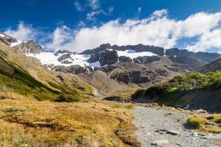Glaciar Martial near Ushuaia, Tierra del Fuego, Argetina