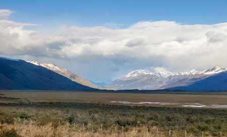 profundity: Mountains in Patagonia, Argentina Stock Photo