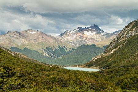 tierra del fuego: Mountain in Tierra del Fuego, Argentina