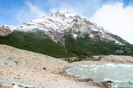 Laguna de Torre lake, National Park Los Glaciares, Patagonia, Argentina