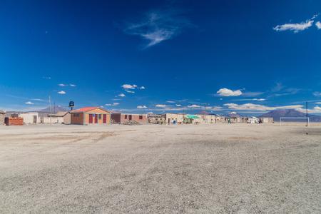 Small village Julaca, Bolivia. This village is located in a desert of southwestern Bolivia near salt plains of Uyuni.