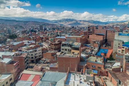 la paz: Roofs of La Paz, Bolivia. Editorial