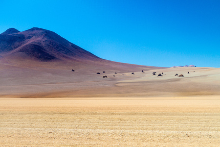 Salvador Dali Desert in Eduardo Avaroa Andean Fauna National Reserve, Bolivia