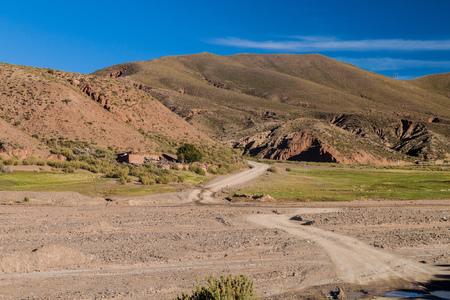avaroa: Small village Nazarenito on bolivian Altiplano near Tupiza