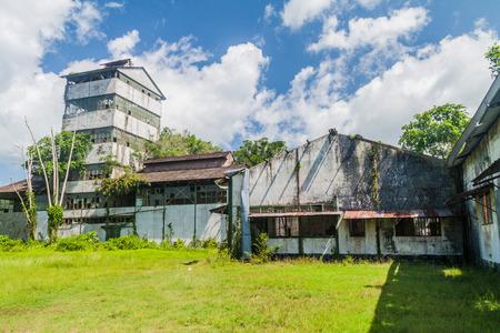 Former sugarcane factory at Marienburg plantation in Suriname Editorial