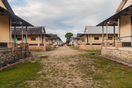 laurent: Buildings of a prison Camp de la Transportation in St Laurent du Maroni, French Guiana