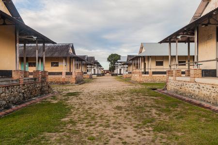 Buildings of a prison Camp de la Transportation in St Laurent du Maroni, French Guiana