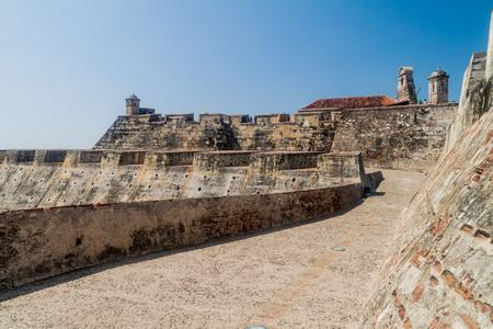 barajas: Castillo de San Felipe de Barajas castle in Cartagena de Indias, Colombia. Editorial