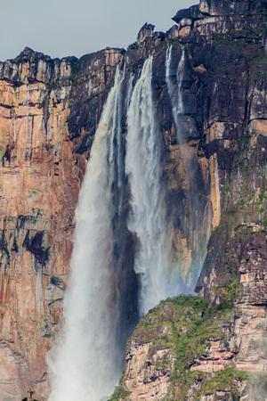 Angel Falls (Salto Angel), worlds highest waterfall (978 m), Venezuela