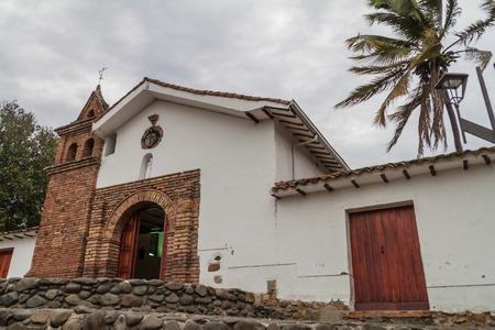 San Antonio church in Cali, Colombia Editorial