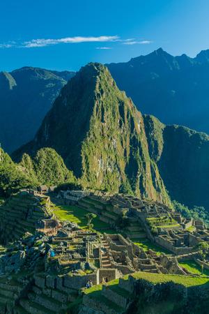 archaeologies: Ruins of Machu Picchu, Peru
