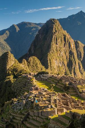 urubamba valley: Machu Picchu ruins in Peru