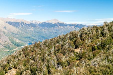 bariloche: Mountains near Bariloche, Argentina Stock Photo