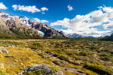 Countryside of National Park Los Glaciares, Patagonia, Argentina