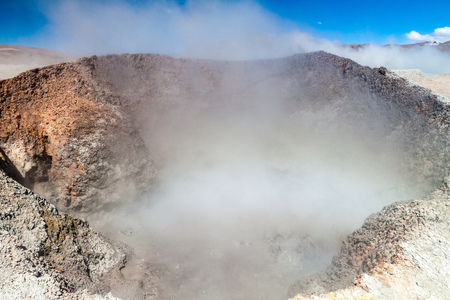 avaroa: Sol de Manana geyser field, Bolivia