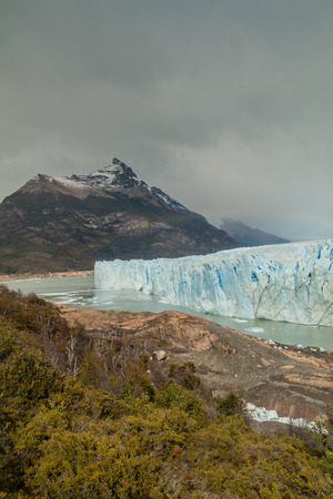 Perito Moreno glacier, Los Glaciares National Park, Patagonia, Argentina Stock Photo