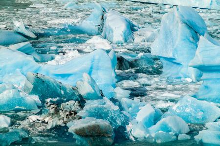 Icebergs near Perito Moreno glacier in Patagonia, Argentina