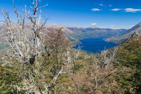 bariloche: Gutierrez lake near Bariloche, Argentina Stock Photo