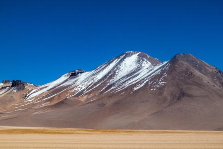 vastness: Salvador Dali Desert in Eduardo Avaroa Andean Fauna National Reserve, Bolivia