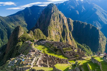 Machu Picchu ruins, Peru Editorial