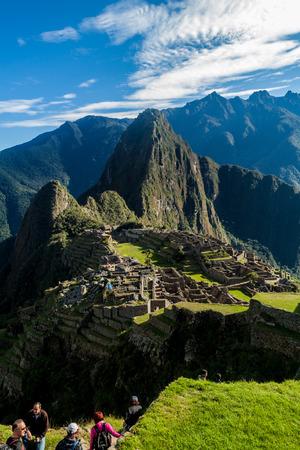 マチュピチュ、ペルー 写真素材