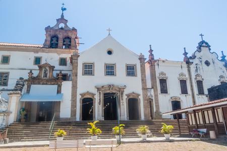 RIO DE JANEIRO, BRAZIL - JANUARY 28, 2015: Santo Antonio convent in Rio de Janeiro. Editorial