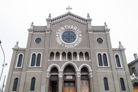 Maria Auxiliadora church in Punta Arenas, Chile