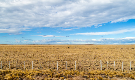 Landscape of Patagonia, Chile Stock Photo